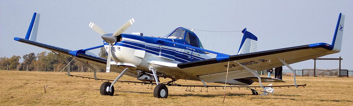 Aeroaplicaciones agricolas